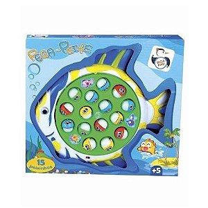 Brinquedo Pega Pesca Peixe Cor Surpresa Pica Pau 3254