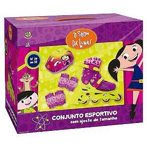 Conjunto Esportivo Patins  Show Da Luna 29 Ao 32 Dtc 3900