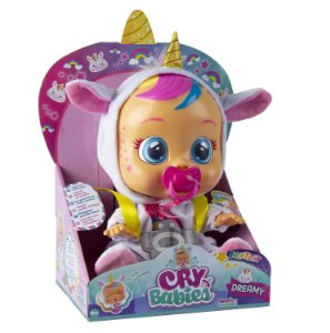 Boneca Cry Babies Dreamy Chora de Verdade Multikids BR1029