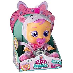 Boneca Cry Babies Hopie Chora de Verdade Multikids BR1030