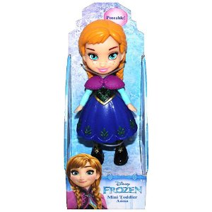 Boneca Mini Toddler Ana Frozen Disney Sunny 1262