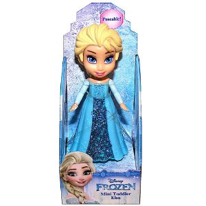 Boneca Mini Toddler Elsa Frozen Disney Sunny 1262