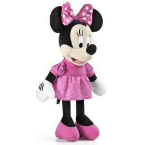 Brinquedo Pelucia Disney com Som Minnie Multikids BR333