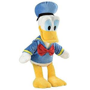 Brinquedo Pelucia Disney com Som Pato Donald Multikids BR334