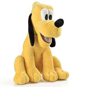 Brinquedo Pelucia Disney com Som Pluto Multikids BR337