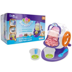 Brinquedo Sorveteria e Acessorios Kids Chef Multikids BR364