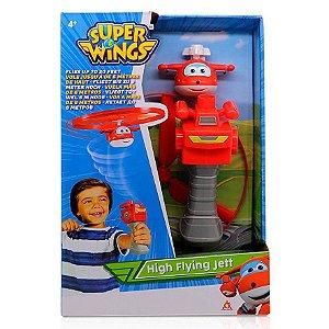Brinquedo Voador Super Wings Jett nas Alturas Fun 84349