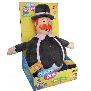 Brinquedo Pelucia Grande O Mundo de Bita com Sons Fun 82627