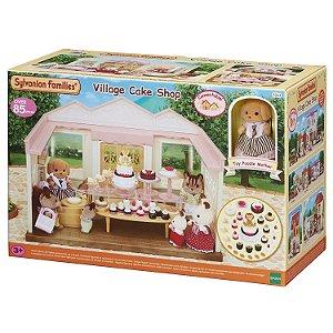 Brinquedo Sylvanian Families Confeitaria 85 peças Epoch 5263