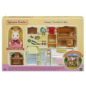 Brinquedo Sylvanian Families Conjunto Moveis Classicos 5392