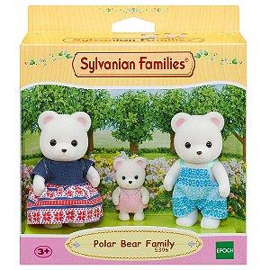 Sylvanian Families Familia dos Ursos Polares Epoch 5396