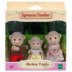 Briqnuedo Sylvanian Families Familia dos Macacos Epoch 5214