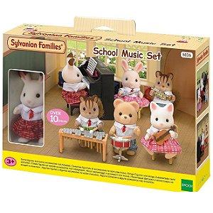 Brinquedo Sylvanian Families Conjunto Aula de Musica 5106