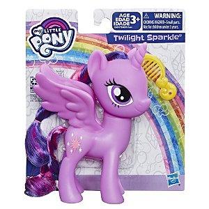 Boneca My Little Pony Twilight Sparkle Pente e Cabelo E6839