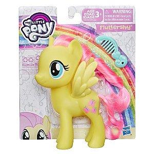Boneca My Little Pony Fluttershy Pente e Cabelo Hasbro E6839
