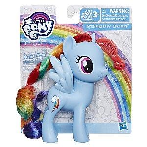 Boneca My Little Pony Rainbow Dash Pente e Cabelo E6839