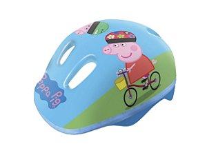 Capacete Infantil Ajustável Peppa Pig Dtc 4604