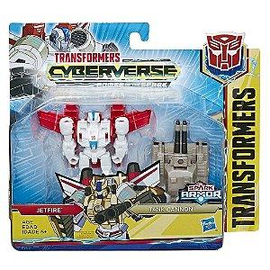Transformers Spark Armor Jetfire e Tank Cannon Hasbro E4219