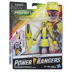Boneco Power Rangers Beast Morphers Ranger Amarelo E5915
