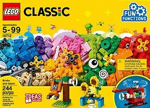 Brinquedo Lego Classic Peças e Engrenagens 244 Peças 10712