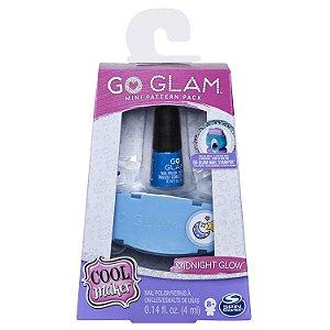 Kit Esmalte Go Glam Nail Midnight Glow Infantil Sunny 2131