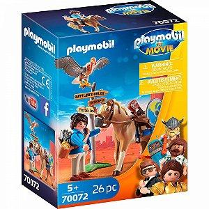 Brinquedo Playmobil O Filme Marla com Cavalo Sunny 70071