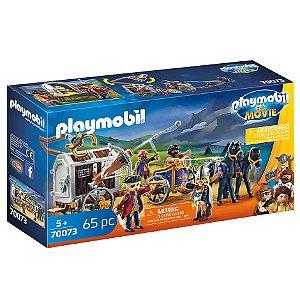 Brinquedo Playmobil O Filme Charlie com Carro Prisao 70073