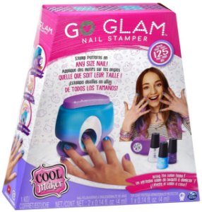 Kit Stamper Esmalte Go Glam Nail Printer Value Infantil 2130