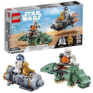 Lego Star Wars Pod de Fuga vs. Microfighters Dewback 75228