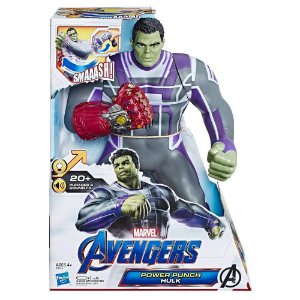 Boneco Eletronico Power Punch Hulk Vingadores Ultimato E3313
