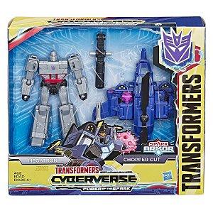 Transformers Spark Armor Megatron e Chopper Cut Hasbro E4220