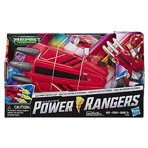 Brinquedo Power Rangers Garra de Guepardo Eletronica E5908
