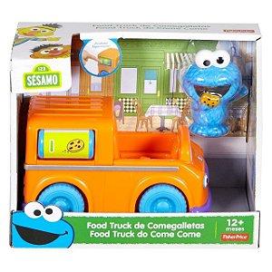 Brinquedo Vila Sesamo Veiculo Food Truck do Come Come Ftc33