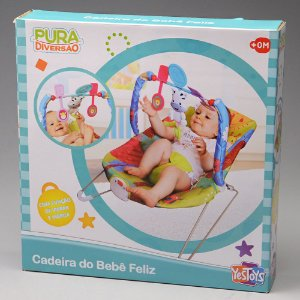 Cadeira De Balanço Do Bebê Feliz Yes Toys 20109
