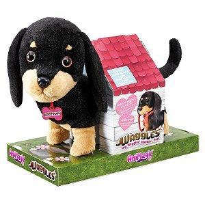 Brinquedo Pelucia Adotados Cachorrinho Salsicha Fun 84491