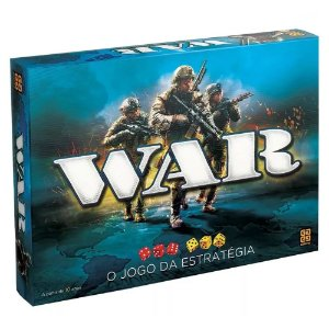Novo Jogo de Tabuleiro War O Jogo da Estrategia Grow 02000