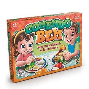 Brinquedo Jogo de Tabuleiro Educativo Comendo Bem Grow 03560