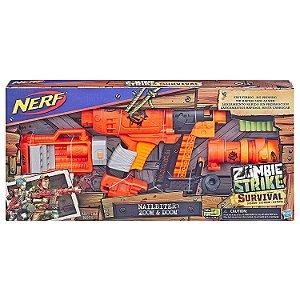 Lançador de Dardos Nerf Zombie Strike Nailbiter Hasbro E6163