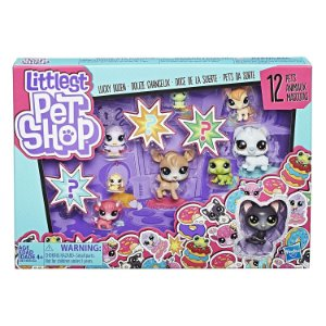 Littlest Pet Shop Pets da Sorte 12 Mascotes Surpresa E3034