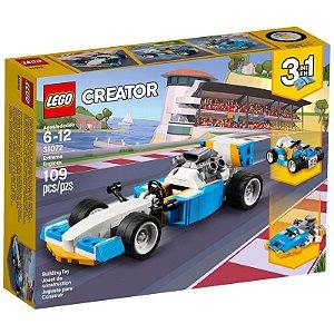 Lego Creator Motores de Corrida Radical 3em1 109 peças 31072