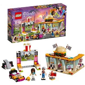 Lego Friends O Restaurante Drifting com Cine Drive In 41349