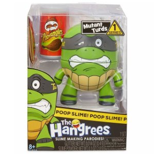 Boneco Poop Slime The Hangrees Series 1 Mutant Turds 8800