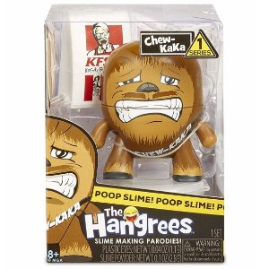 Boneco Poop Slime The Hangrees Series 1 Chew-Kaka 8800