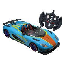 Veículo de Controle Remoto Garagem SA Power Speed Candide