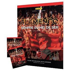 Kit Album de Figurinhas Flamengo +60 Figurinhas Panini