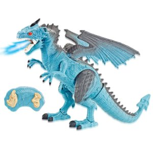 Boneco De Controle Remoto Lendários Dragão Azul Candide 1110
