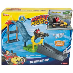 Mickey and The Roadster Racers Pista Salto nas Alturas Dtt63