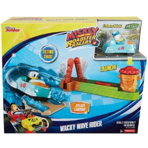 Mickey and The Roadster Racers Pista A Onda Radical Dtt63