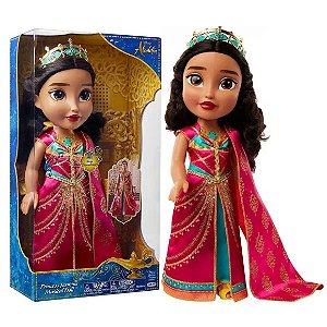 Boneca Disney Aladin Princesa Jasmine com Sons Mimo 6355