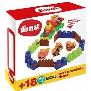 Brinquedo Infantil Box Fazendinha Dismat Mk348